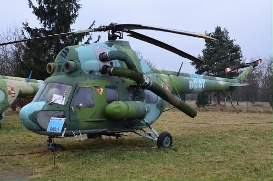 Cracovie : Military chopper.