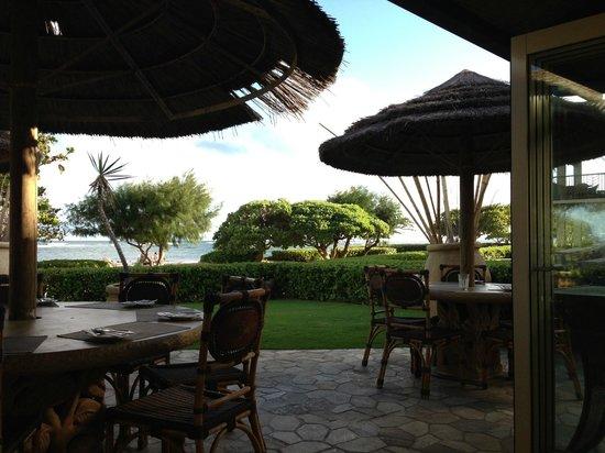 Waipouli Beach Resort: Outside dinner