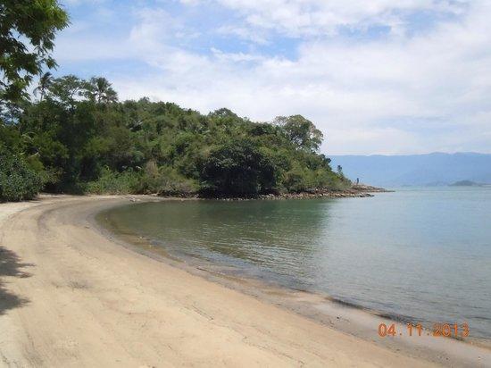 Vila Galé Eco Resort de Angra : Canto esquerdo da praia exclusiva