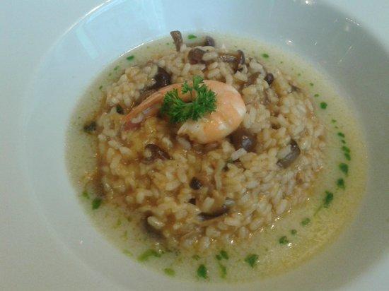 Restaurante Zuria: arroz caldoso de marisco
