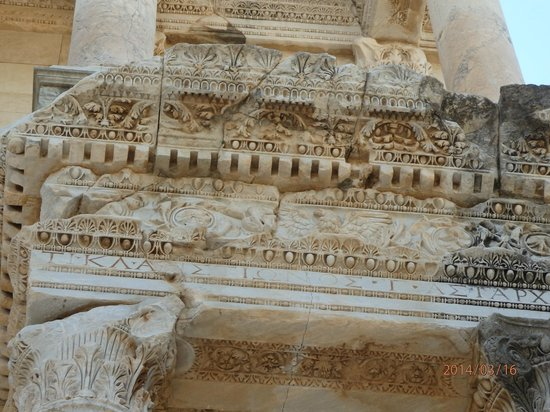 Celsus Kutuphanesi: Ephesus Ancient City Celsus Library