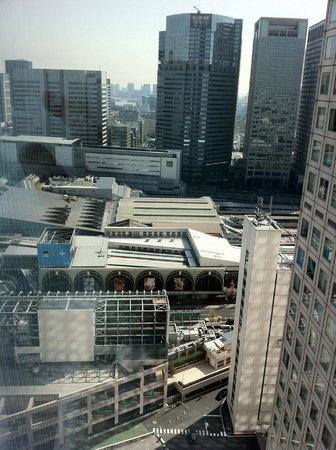 Shinagawa Prince Hotel Tokyo: вид из окна anex tower