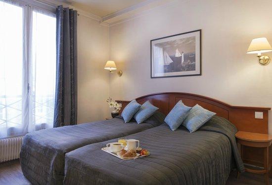 Hôtel de Genève : chambre2 LITS
