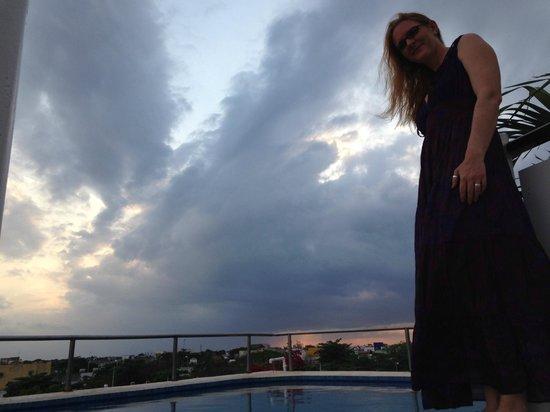 Paraiso Azul's -Casa De Gopala: Rooftop