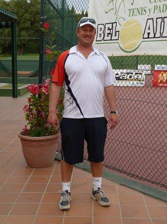 Bel Air Tennis Club : Jason  Fry- Trainer