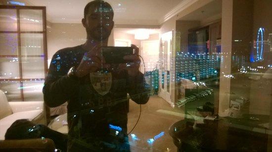 Signature at MGM Grand: Vista do hotel.