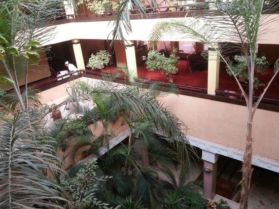Hotel Marrakech le Semiramis: Giardinetto interno