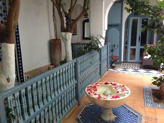 Riad des Artistes : Il cortile del iad des artistes