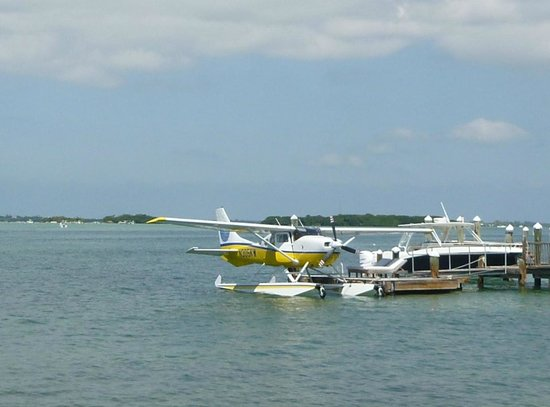 Key West Seaplanes: Docked at Little Palm Island