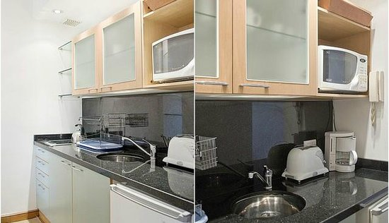 Callao Plaza Suites: fully equiped kitchen