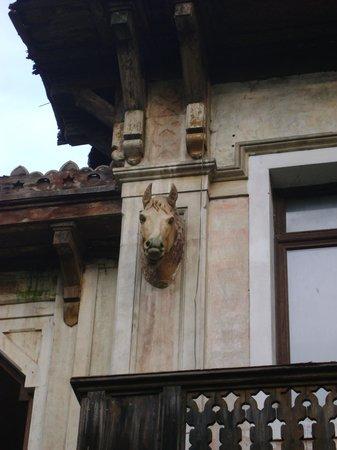 Villa Ducale Hotel e Restaurant : Particolare dell' antica scuderia