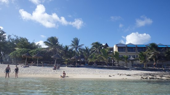 Le Peninsula Bay Beach Resort: vue plage