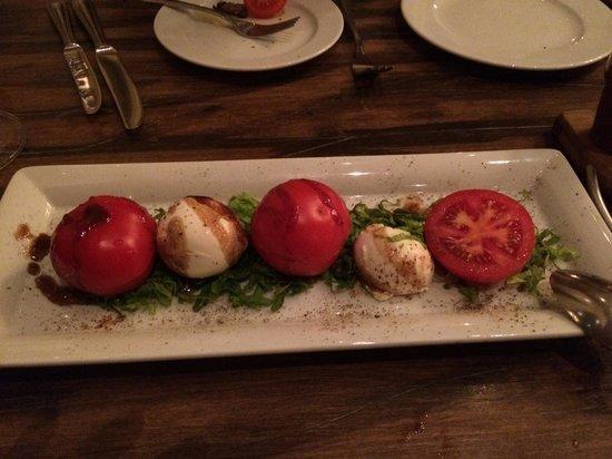 Armenia Marriott Hotel Yerevan: Caprese Salad at La Cucina Restaurant - Yerevan Marriott Hotel