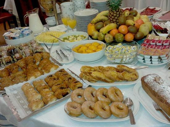 Hotel Peninsular: Breakfast