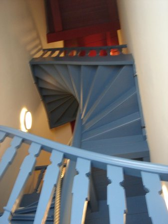 Prinsenhof Hotel: upper access stairs