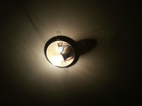 Istanbul Hotel Akdeniz: Zimmerbeleuchtung