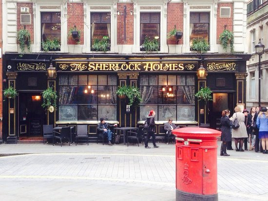 The Sherlock Holmes Public House & Restaurant : Sherlock holmes