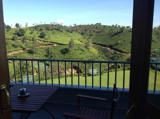 Heritance Tea Factory: View from the balcony