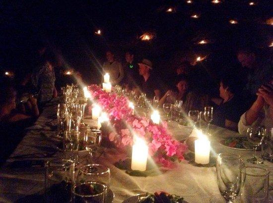 Refugio de Santiago : cena magica