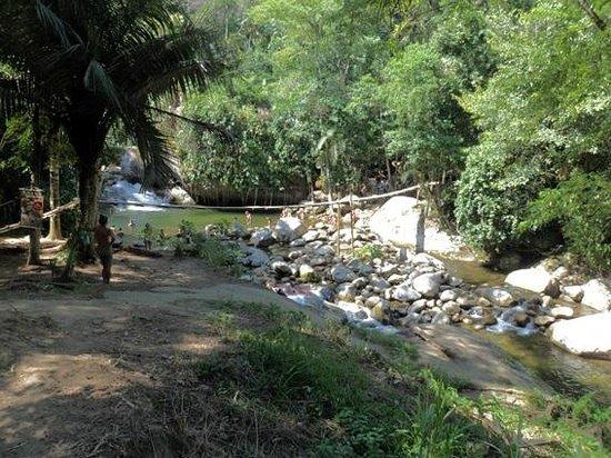 Toboga Falls: Pontinha do Poço do Tarzan