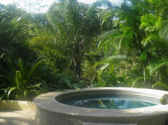 Hotel Cuna del Angel: Jungle-tub