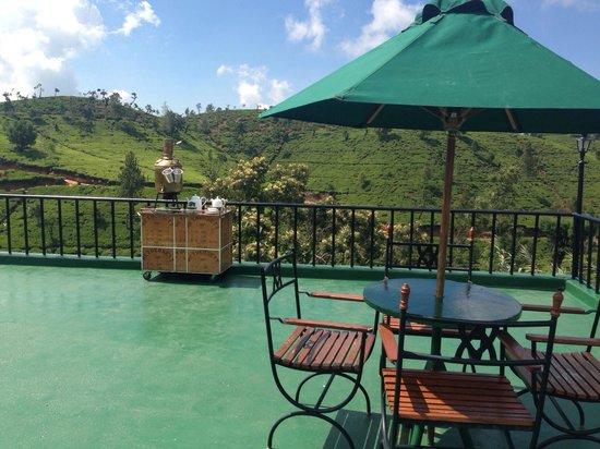 Heritance Tea Factory: Terrace