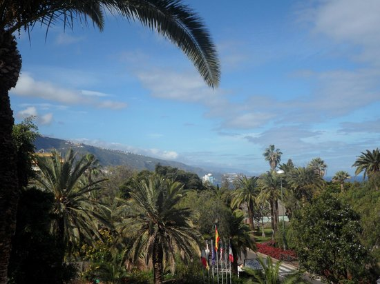 Miramar Hotel Tenerife Island : View from room 511