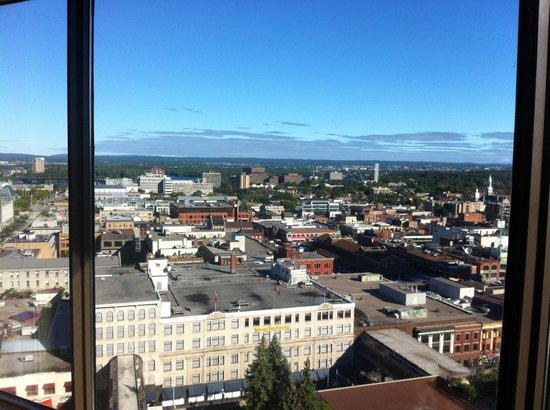 The Westin Ottawa : Overlooking Byward Market and beyond.