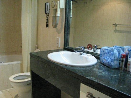 Imperial Suites Hotel: мыльные принадлежности меняли каждый день на 1 чел.