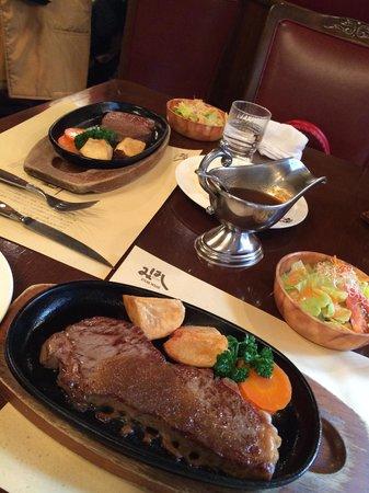 Steak House Mihashi: 非常に上質な肉。旨い。 値段は高いけど、旅の思い出にもなると思えば....個人的にはオススメです。