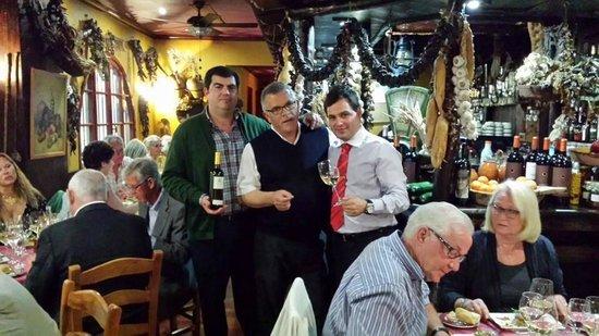 Meson de Calahonda: Wine and food pairing by Bodegas Faustino