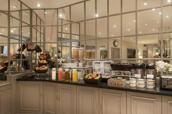 Hotel Beaugency: buffet petits dejeuners