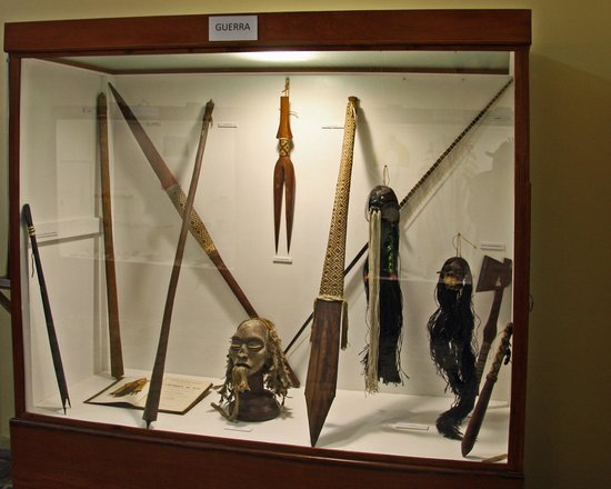 Museum of Indigenous Amazonian Cultures : Artifacts of warfare