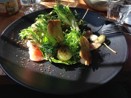 Restaurant Maven : smoked salmon