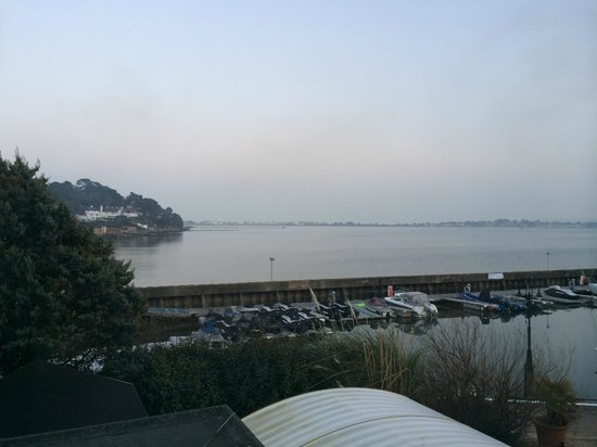 Salterns Harbourside Hotel : View from my room