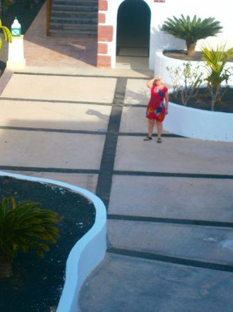 Gran Castillo Tagoro Family & Fun Playa Blanca: just outside our room