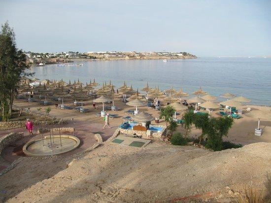 Domina Hotel & Resort Harem: Вид на пляж отеля Гарем