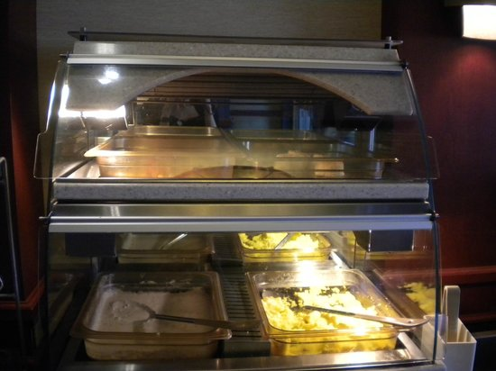Holiday Inn Express Ashland: Scrambled Eggs and Bacon