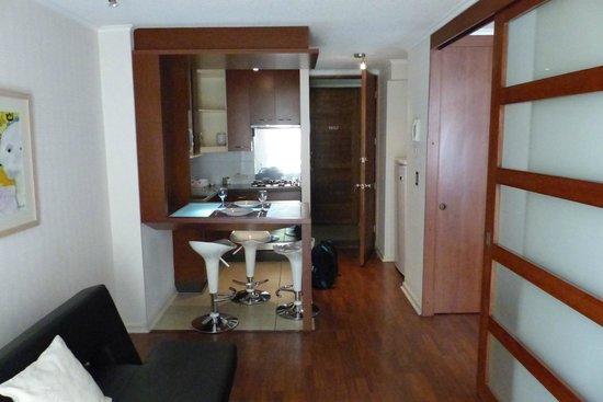 Andes Hostel: Pequena Cozinha