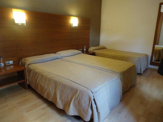 Hotel Via Augusta: Stanza tripla