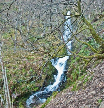 Cascada del Xiblu: Detalle cascada