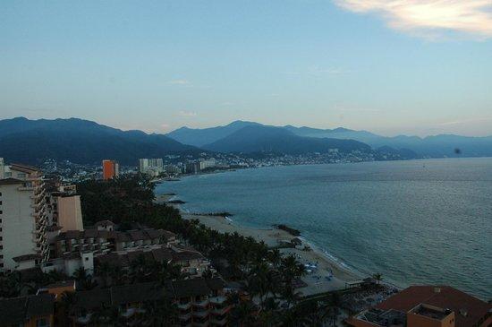Sunscape Puerto Vallarta Resort & Spa: Looking towards downtown