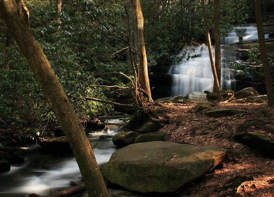 Blue Ridge, Geórgia: long creek falls