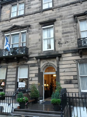 Edinburgh Thistle Hotel: Entrance, Thistle Hotel