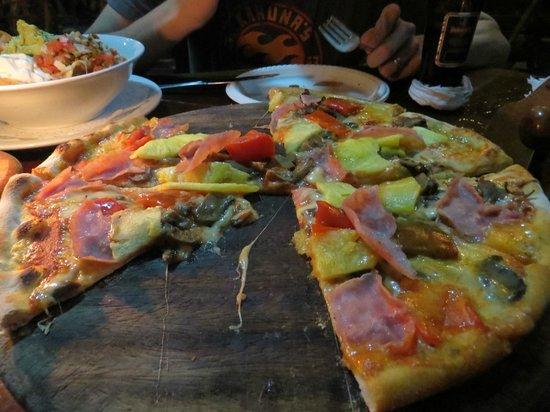 El Wagon pizza (I think!) - delicious!