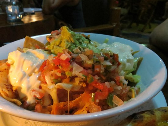 El wagon: Reasonably sized nachos