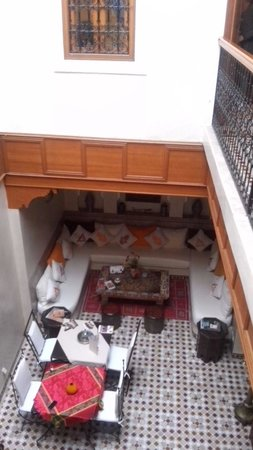 Riad Gallery 49 : Il patio