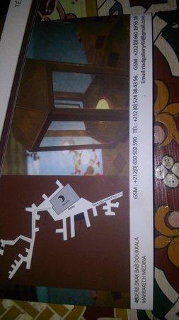 Riad Gallery 49 : La mappa...