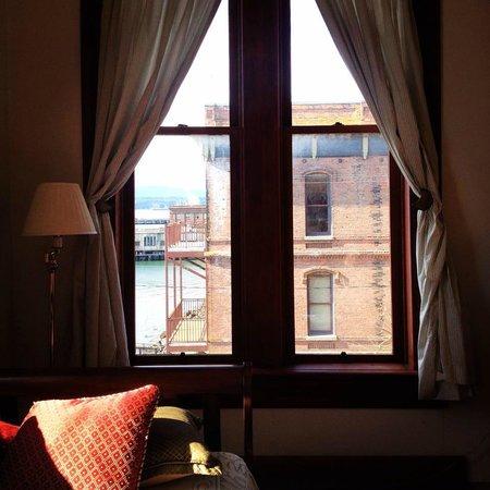 The Waterstreet Hotel : Room 15 Window