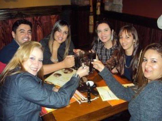 Outback Steakhouse: Um brinde!!